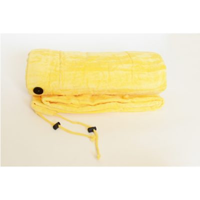 Chameleon Beach Towel Changer - Beach Bag Yellow
