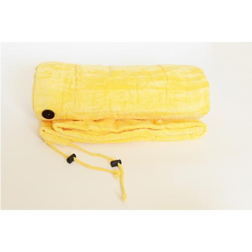 Chameleon Beach Towel Changer - Beach Bag Yellow