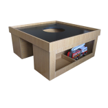 midplay kids play table with blackboard top