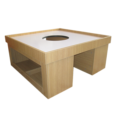 midplay kids play table with whiteboard top
